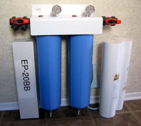 Big Blue Whole House Filter Water Purifier System Air